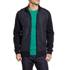 HUGO BOSS Skiles Regular Fit Zip Bomber Jacket